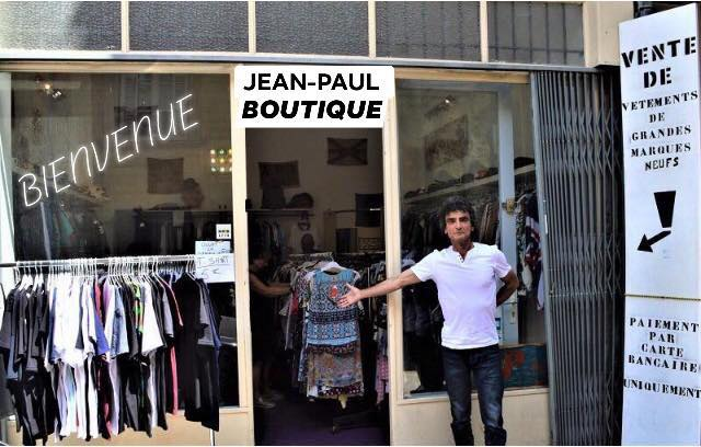 Jean paul boutique bienvenue
