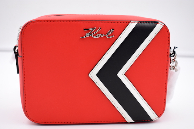 Karl lagerfeld k stripes camera bag 1