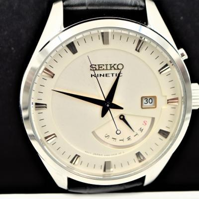 Seiko kinetic montre homme